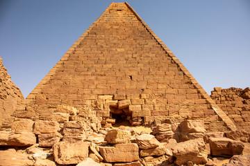The mysterious pyramids at Jebel Barkal, Sudan