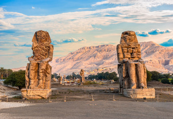 Colossi of Memnon Fototapete