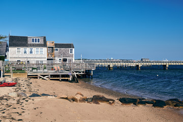 Wall Mural - Beach at Provincetown, Cape Cod, Massachusetts, USA.