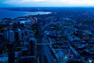 Toronto from adobe