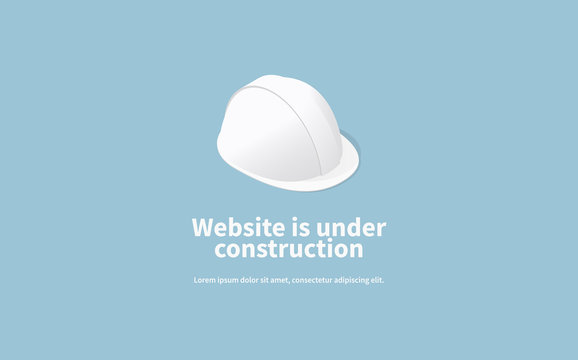 Website Under Construction Page