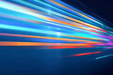 colorful geometric  speed line abstract technology background