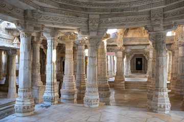 Wall Murals Place of worship Jain temple of aadinah