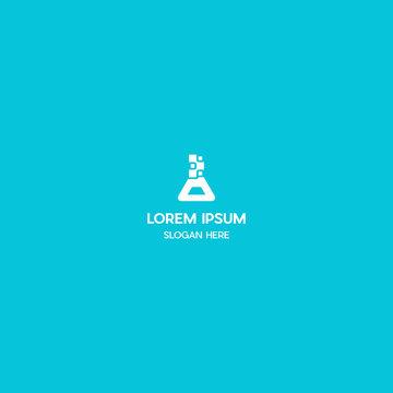 Labs Data Technology Logo Design