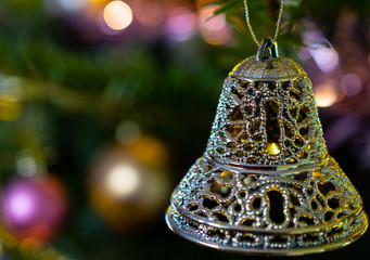 festive bell decoration