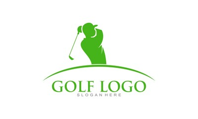 Golf logo vector