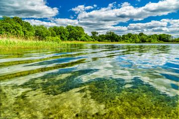 Wasserqualität des Krakower Sees in Mecklenburg-Vorpommern