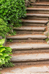 Stone Steps in a Gaerden