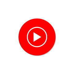 Play Video. Red button on a white background