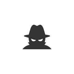 Spyware icon in simple design. Vector illustration - fototapety na wymiar