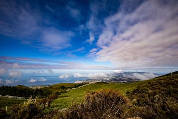 Azorian Landscape At Pico da Barrosa
