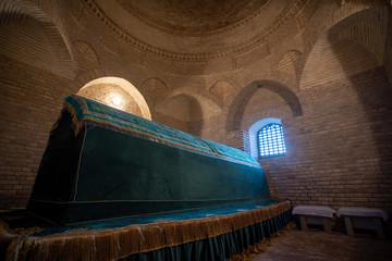Arystan Bab Mausoleum at Turkestan Kazakhstan. Wall mural
