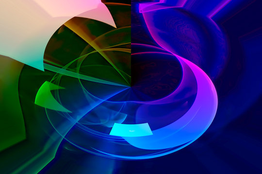 fantasy abstract fractal background graphic