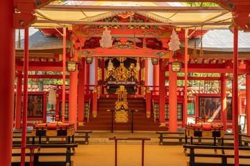 Der Ikuta-Schrein in Kobe