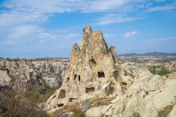 Wall Mural - View of Cappadocia landscape in Goreme, Turkey