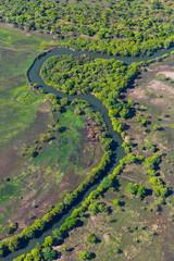 Foto op Canvas Rivier Kasanka National Park, Serenje, Provincia central, Zambia, Africa