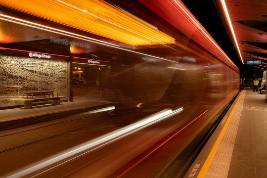 Canberra lightrail public transport
