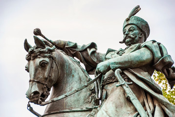 Statue of King Jan III Sobieski in Gdansk