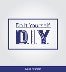 eps Vector image:Do it Yourself