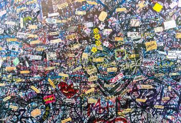 Poster Graffiti Messaggi