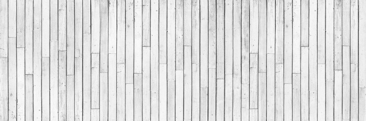horizontal white wood design for pattern and background