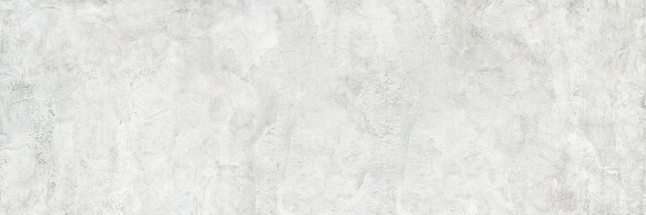 Wall Mural - horizontal white cement and concrete texture for pattern and background