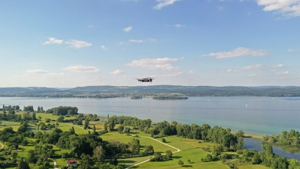 Drohne über See