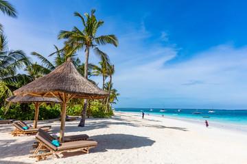 Foto op Textielframe Zanzibar Kendwa beach in Unguja aka Zanzibar Island Tanzania East Africa