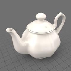 Porcelain teapot 2