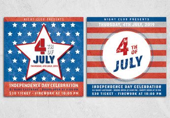 July 4th Event Flyer