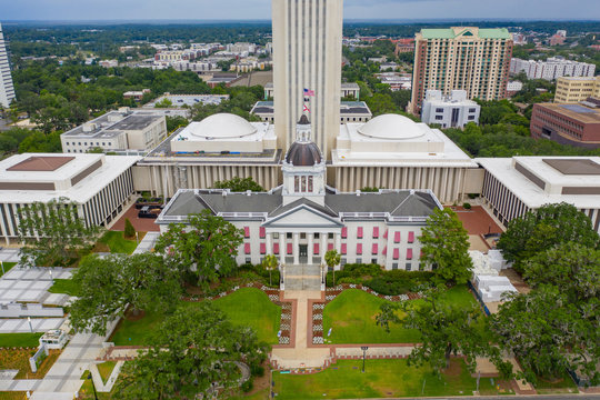 Aerial photo Florida State Capitol Building Tallahassee