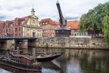 Am Hafen in Lüneburg