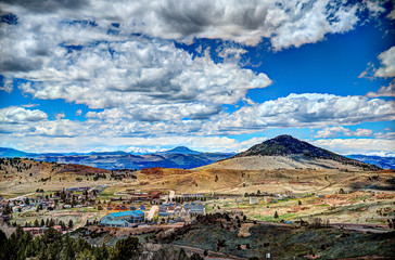 Elevated view of Cripple Creek, Colorado