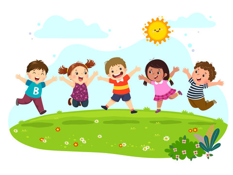 4,966 BEST Clipart Playing In A Park IMAGES, STOCK PHOTOS & VECTORS | Adobe  Stock