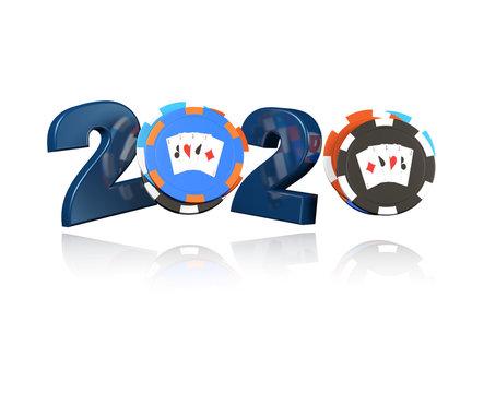 Poker Chip 2020 Design