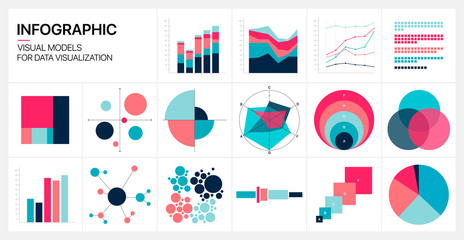 Editable Infographic Templates. Use in corporate report, marketing, annual report. Network management data screen with charts, diagrams. Data Visualization Vector