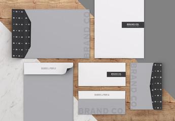 Mailing Envelope Mockup Set