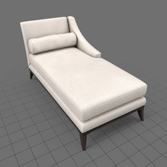 Classic chaise longue