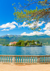 Lake Maggiore at Stresa, north Italy