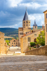 Cluny abbey, Bourgogne, France