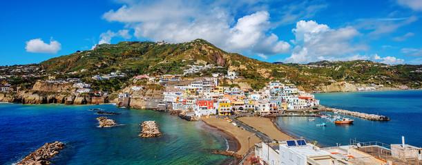 Foto auf AluDibond Neapel Sant'Angelo village, Ischia island, Naples, Italy