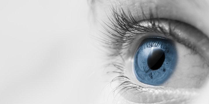 Closup Of Blue Eye