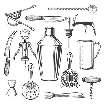 Bar equipment tools