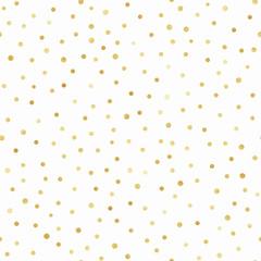Gold Confetti Seamless Pattern - Gold confetti repeating pattern design