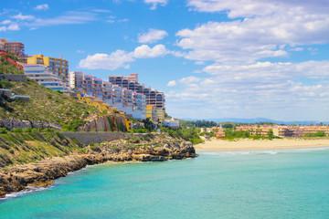 Strände um Cullera, Provinz Valencia in Spanien - Beaches around Cullera, Province Valencia