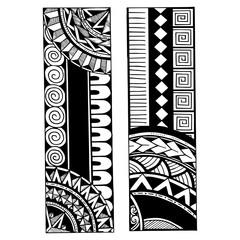 Polynesian Tattoo Design. Black and White