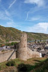 Die alte Stadtmauer von Oberwesel