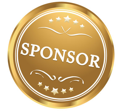 sponsor web Sticker Button