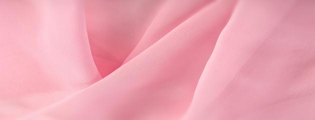 light pink chiffon