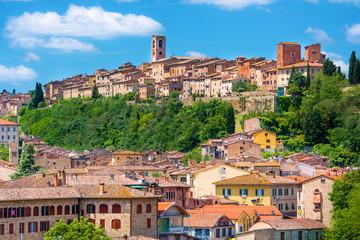 Village Colle di Val d'Elsa in Italy